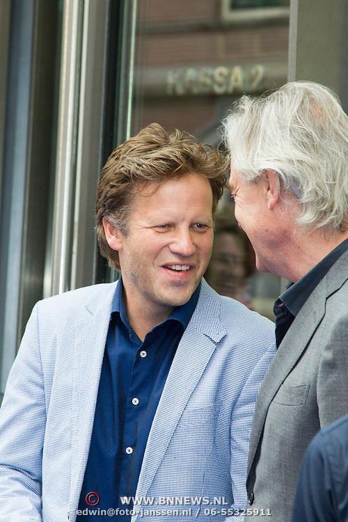 NLD/Amsterdam/20150620- Filmpremiere Code M, Peter Paul Muller en Derek de Lint