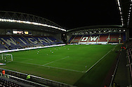 The DW Stadium before the Sky Bet League 1 match between Wigan Athletic and Gillingham at the DW Stadium, Wigan, England on 7 January 2016. Photo by Pete Burns.