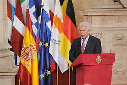 24.06.2015, Palacio Real, Madrid, ESP, Festakt zu 30 Jahre EU Mitgliedschaft Spaniens, im Bild Former Spanish Prime Minister Felipe Gonzalez // attends the 30th Anniversary of Spain being part of European Communities at the Palacio Real in Madrid, Spain on 2015/06/24. EXPA Pictures © 2015, PhotoCredit: EXPA/ Alterphotos/ POOL/ Ricardo Garcia<br /> <br /> *****ATTENTION - OUT of ESP, SUI*****