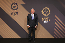 March 19, 2018 - Lisbon, Lisbon, Portugal - Portuguese Prime Minister Antonio Costa poses on arrival at 'Quinas de Ouro' 2018 ceremony held and the Pavilhao Carlos Lopes in Lisbon, on March 19, 2018. (Credit Image: © Dpi/NurPhoto via ZUMA Press)