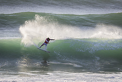 October 12, 2017 - Kolohe Andino (USA) Placed 1st in Heat 7 of Round Two at Quiksilver Pro France 2017, Hossegor, France..Quiksilver Pro France 2017, Landes, France - 12 Oct 2017 (Credit Image: © WSL via ZUMA Press)