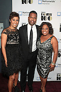 November 2, 2012- New York, NY: (L-R) Desiree Rogers, CEO, Johnson Publishing Company, On-Air Personality AJ Calloway and On-Air Personality Sherri Shepherd at the Ebony Power 100 Gala Presented by Nationwide held at Jazz at Lincoln Center on November 2, 2012 in New York City. The EBONY Power 100 Gala Presented by Nationwide salutes the country's most influential African Americans. (Terrence Jennings)