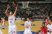 DESCRIZIONE : Roma Lega A1 2006-07 Lottomatica Virtus Roma Whirlpool Varese <br /> GIOCATORE : Bodiroga <br /> SQUADRA : Lottomatica Virtus Roma <br /> EVENTO : Campionato Lega A1 2006-2007 <br /> GARA : Lottomatica Virtus Roma Whirlpool Varese <br /> DATA : 25/04/2007 <br /> CATEGORIA : Tiro <br /> SPORT : Pallacanestro <br /> AUTORE : Agenzia Ciamillo-Castoria/G.Ciamillo