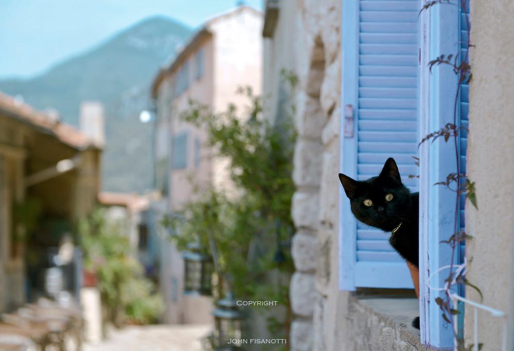 The Black Cat, Sainte Agnes, France