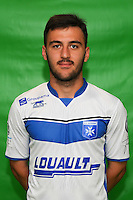 Giorgi Jobava of Auxerre during Auxerre squad photo call for the 2016-2017 Ligue 2 season on September, 7 2016 in Auxerre, France ( Photo by Andre Ferreira / Icon Sport )