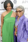 14 June 2010- Harlem, New York- Jonelle Procope, President & CEO of Apollo Theater Foundation and Famed Actress, Ruby Dee at The Apollo Theater's 2010 Spring Benefit and Awards Ceremony hosted by Jamie Foxx inducting Aretha Frankilin and Michael Jackson, and honoring Jennifer Lopez and Marc Anthony co- sponsored by Moet et Chandon which was held at the Apollo Theater on June 14, 2010 in Harlem, NYC. Photo Credit: Terrence Jennngs/Sipa