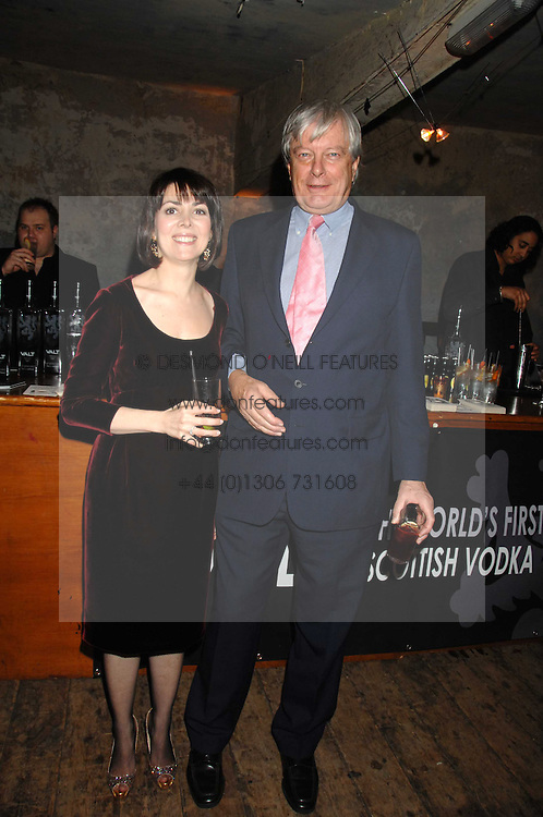 ARCHIE & SHARON STIRLING at a reception to Discover Wilton's Music Hall held at the hall in Graces Alley, London E1 on 5th December 2007.<br /><br />NON EXCLUSIVE - WORLD RIGHTS