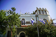 Eclectic Style Architecture at 31 idelson, Tel-Aviv, Israel recently renovated and houses a hotel