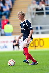 Falkirk's Stephen Kingsley..Falkirk v Raith Rovers, 18/8/2012..