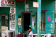 "San Ignacio: the well-known ""Eva's restaurant."