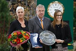 Best event of the Year 2015, CSI Geneve, Van der Net Inge, (NED)<br /> L'Année Hippique awards<br /> CHI de Genève 2015<br /> © Hippo Foto - Dirk Caremans<br /> 12/12/15