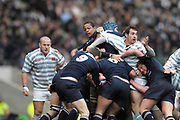 Twickenham. GREAT BRITAIN, Oxford driving forward,  during the 2006 Varsity Rugby Match at Twickenham Stadium, England 12.12.2006. [Photo, Peter Spurrier/Intersport-images] Sponsor, Lehman Brothers,