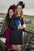 NORA LEE NOTZEN; FIONA BARONESS DE VOS VAN STEENWIJK, Sam Sangster, Carlo Carello and Christian Hamilton host a preview of Aspall's 1728 Fine Sparkling Cyder. Ladies Day, Epsom Downs.  A pop-up bar in No 1 car-park and lunch in a Box in the grandstand. . 3 June 2016
