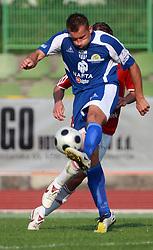Stjepan Caban (23) of Nafta at 7th Round of PrvaLiga Telekom Slovenije between NK Interblock vs NK Nafta Lendava, on September , 2008, in ZAK stadium in Ljubljana, Slovenia. Interblock won the match 3:1. (Photo by Vid Ponikvar / Sportal Images)