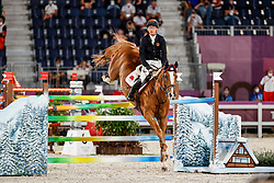 Zhang Xinija, CHN, For Passion D Ive Z, 321<br /> Olympic Games Tokyo 2021<br /> © Hippo Foto - Stefan Lafrentz<br /> 06/08/2021