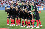 Team of Croatia before the 2018 FIFA World Cup Russia, semi-final football match between Croatia and England on July 11, 2018 at Luzhniki Stadium in Moscow, Russia - Photo Thiago Bernardes / FramePhoto / ProSportsImages / DPPI