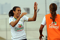 20091211: SAO PAULO, BRAZIL - Brazil National Women Football Team training in Sao Paulo. In picture: Marta. PHOTO: CITYFILES