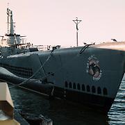 Reis Amerika, San Francisco, Fishermans Warf duikboot onderzeeboot SS161 Stingray