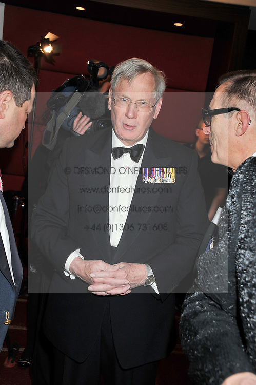 The DUKE OF GLOUCESTER at the Soldiering On Awards 2013 held at the Park Plaza Hotel, Westminster Bridge, London SE1 on 23rd March 2013.