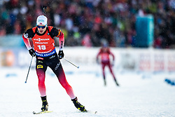 March 10, 2019 - –Stersund, Sweden - 190310 Tarjei Bø of Norway during the Men's 12,5 km Pursuit during the IBU World Championships Biathlon on March 10, 2019 in Östersund. 10, 2019 in Östersund..Photo: Johan Axelsson / BILDBYRÃ…N / Cop 245 (Credit Image: © Johan Axelsson/Bildbyran via ZUMA Press)