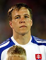 Fotball<br /> VM-kvalifisering<br /> Slovakia v Tsjekkia<br /> 05.09.2009<br /> Foto: Gepa/Digitalsport<br /> NORWAY ONLY<br /> <br /> Bild zeigt Stanislav Sestak (SVK)