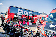 BMC Racing Switzerland during the Eneco Tour 2016 at  at Breda, Breda, Holland on 20 September 2016. Photo by Gino Outheusden.