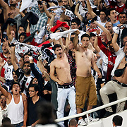 Besiktas's Fans and during their Turkish Superleague soccer match Besiktas between SB Elazigspor at BJK Inonu Stadium in Istanbul Turkey on Monday, 17 September 2012. Photo by TURKPIX