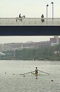 Photo Peter Spurrier<br /> 15/09/2002<br /> 2002 World Rowing Championships - Seville - Spain