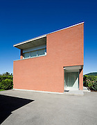 Big modern villa, entrance