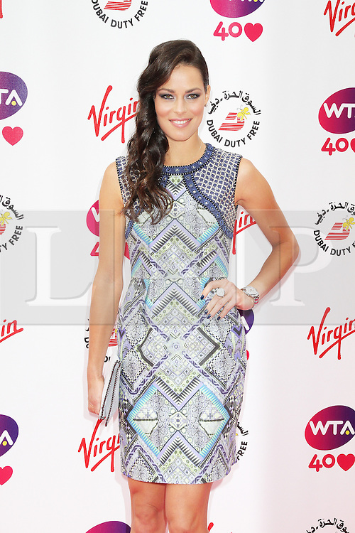 © Licensed to London News. Ana Ivanovic, Pre-Wimbledon Party, Kensington Roof Gardens, London UK, 20 June 2013. Photo credit : Richard Goldschmidt/Piqtured/LNP