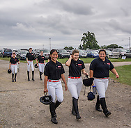 Drill Team at Ludwig's Corner Horse Show