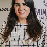 London, England, UK. 25th September 2017. Producer Marilena Parouti of TRENDY attend Raindance Film Festival Screening at Vue Leicester Square, London, UK