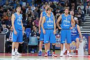 DESCRIZIONE : Pesaro Edison All Star Game 2012<br /> GIOCATORE : team nazionale<br /> CATEGORIA : team ritratto<br /> SQUADRA : Italia Nazionale Maschile<br /> EVENTO : All Star Game 2012<br /> GARA : Italia All Star Team<br /> DATA : 11/03/2012 <br /> SPORT : Pallacanestro<br /> AUTORE : Agenzia Ciamillo-Castoria/C.De Massis<br /> Galleria : FIP Nazionali 2012<br /> Fotonotizia : Pesaro Edison All Star Game 2012<br /> Predefinita :