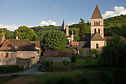 Picturesque village of St Leon sur Vezere in the Dordogne, France