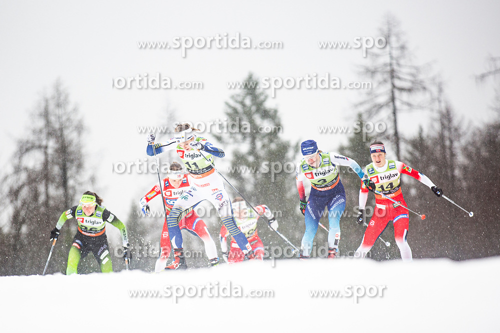 NILLSON Stina (SWE) during the ladies team sprint race at FIS Cross Country World Cup Planica 2019, on December 21, 2019 at Planica, Slovenia. Photo By Peter Podobnik / Sportida