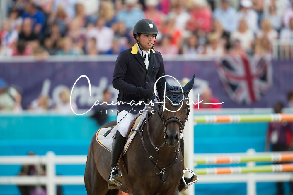 Bluman Daniel (COL) - Sancha<br /> Olympic Games London 2012<br /> © Dirk Caremans