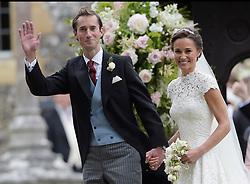 May 20, 2017 - Berkshire, England, United Kingdom - Wedding of Pippa Middleton and James Matthews at St Mark's Church, Englefield. (Credit Image: © i-Images via ZUMA Press)