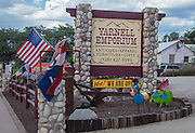 The Yarnell Emporium open for business after the Yarnell Hill Fire, July, 2013, in Yarnell, Arizona.
