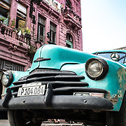 """Nothing like seeing a beautiful vintage car and looking up at a pink building.<br /> <br /> For all details about sizes, paper and pricing starting at $85, click """"Add to Cart"""" below."""