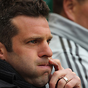 Ben Olsen, Head coach of D.C. United, during the New York Red Bulls V D.C. United, Major League Soccer regular season match at Red Bull Arena, Harrison, New Jersey. USA. 16th March 2013. Photo Tim Clayton