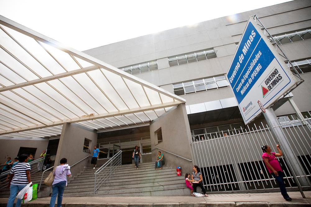 Belo Horizonte_MG, Brasil...Cardiominas, hoje Centro de Especialidades Medicas do IPSEMG em Belo Horizonte, Minas Gerais...Cardiominas, today is the Medical Specialties Center of IPSEMG in Belo Horizonte, Minas Gerais.. .Foto: NIDIN SANCHES / NITRO