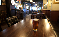 General views of Stirling City centre and shops during the Coronavirus outbreak, 18 March 2020<br /> <br /> Pictured: A normally busy pub in the city centre was deserted at lunchtime<br /> <br /> Alex Todd | Edinburgh Elite media