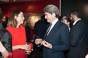 CHARLOTTE DE BOTTON; OCTAVIUS BLACK, The Culture Whisper Launch party. Royal College of art. Royal College of Art, Kensington Gore. London. 28 January 2014