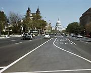 CS00925-18.  NW Pennsylvania Ave at 8th looking east, Washington DC May 1967