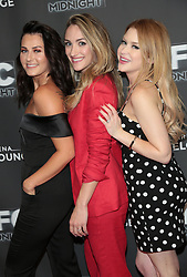 May 25, 2018 - Los Angeles, California, USA - 5/24/18.Scout Taylor-Compton, Landry Allbright and Renee Olstead at the premiere of ''Feral'' held at the Arena Cinelounge in Hollywood..(Los Angeles, CA) (Credit Image: © Starmax/Newscom via ZUMA Press)