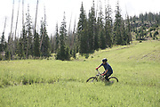 SHOT 8/5/17 11:27:06 AM - Photos while riding Brian Head Resort in Brian Head, Utah with Vesta Lingvyte of Denver, Co. Also includes images while riding the Thunder Mountain Trail in Southwestern Utah. (Photo by Marc Piscotty / © 2017)