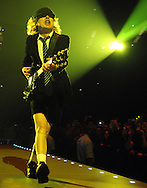 AC/DC  at the O2 Arena London <br />  Angus Young <br /> Pix Dave Nelson