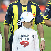Fenerbahce's Ozer HURMACI during their Turkish superleague soccer derby match Galatasaray between Fenerbahce at the AliSamiYen Stadium at Mecidiyekoy in Istanbul Turkey on Sunday, 28 March 2010. Photo by TURKPIX