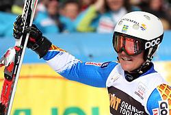 Mattias Hargin at 9th men's slalom race of Audi FIS Ski World Cup, Pokal Vitranc,  in Podkoren, Kranjska Gora, Slovenia, on March 1, 2009. (Photo by Vid Ponikvar / Sportida)