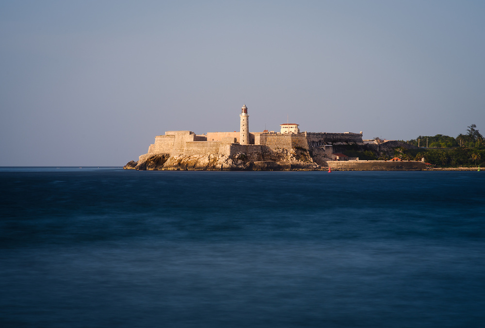 HAVANA, CUBA - CIRCA MAY 2017: Castillo De Los Tres Reyes Del Morro. A popular tourist attraction in Havana.